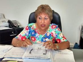 Chimbote: hoy se verá situación legal de la alcaldesa provincial de El Santa