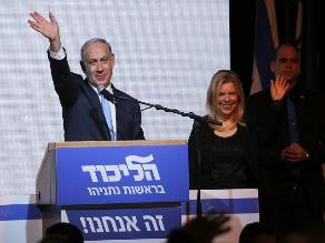 Israel: Netanyahu continuará como primer ministro, según escrutinio