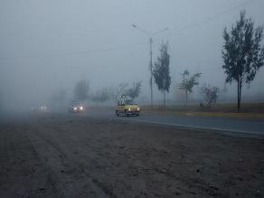 Vuelos se suspende en el aeropuerto de Arequipa