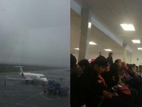 Arequipa: Neblina impide salida de aviones en Aeropuerto