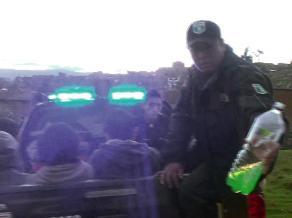 Huancayo: intervienen a seis jóvenes fumando marihuana