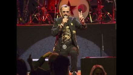 Ringo Starr publicó su décimo octavo disco