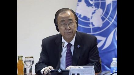 Ban Ki-Moon advierte que ONU no permitirá impunidad de crímenes en Siria