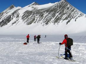 Antártida registró su temperatura máxima a finales de marzo