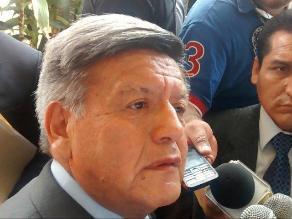 Trujillo: César Acuña asegura que no se corre de las investigaciones