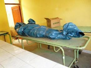 Trujillo: Aún no identifican cadáver de hombre hallado en vía a Otuzco