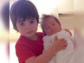 ¡Amor de hermanos! Shakira publicó foto de sus hijos