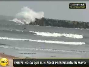 ENFEN: El niño llegaría a costas peruanas en mayo de débil a moderada