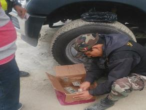 Ayacucho: intervienen a hombre que transportaba fuerte cantidad de dinero