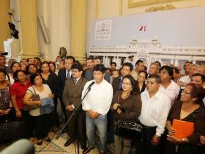Gana Perú respalda al Gobierno y a la censurada Ana Jara
