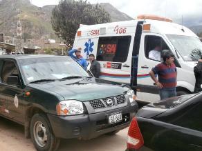 Huancavelica: hallan cuerpo de menor de edad desaparecida