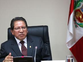 Fiscal de la Nación sobre Ecoteva: Investigamos hechos, no a políticos