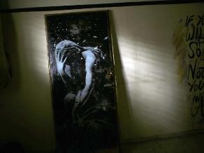 Un palestino vende una obra de Banksy por 174 dólares