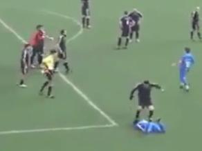 YouTube: Se burló de equipo rival y sufrió una golpiza