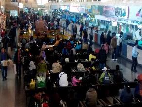 Arequipa: precios de pasajes interprovinciales se incrementaron en 50 %