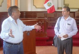 Chiclayo: alcalde espera que nuevo jefe de CGT recaude 70 millones