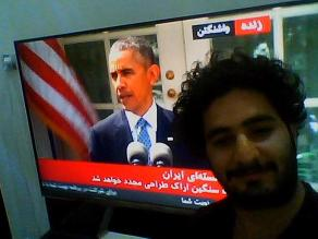 Twitter: iraníes se toman selfies con Barack Obama