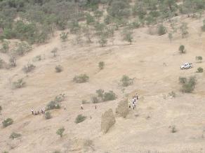 Lambayeque: invaden Huaca El Pueblo en pleno Viernes Santo