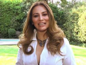 Myriam Hernández dejó mensaje a peruanos antes de concierto