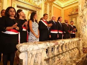 Ejecutivo oficializó nombramiento de nuevo Gabinete