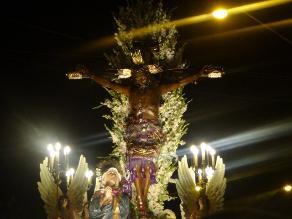 Ica: pobladores participan de la procesión del Señor de Luren