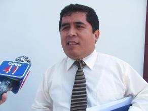 Chiclayo: Fiscal Esdras Sánchez dice que solo responderá legalmente