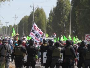 Arequipa: cinco heridos dejó nuevo enfrentamiento en Cocachacra