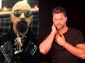 Rob Halford de Judas Priest reveló que le gusta Ricky Martin