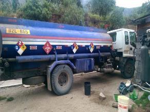 Ayacucho: Sunat incauta cisterna con dos mil galones de combustible