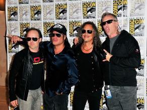 Metallica: nuevo disco se encuentra al 30% de preparación