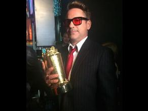 MTV Movie Awards: elenco de Avengers premió a Robert Downey Jr.