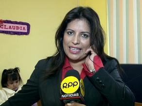 Congresista Carmen Omonte será investigada en la Comisión de Ética