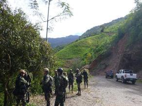 Ayacucho: capturan a dos presuntos terroristas que hacían reglaje en el Vraem