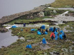 Apurímac: laguna altoandina Wachhuaccocha a punto de desbordarse