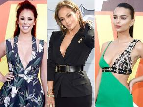 MTV Movie Awards: los escotes más infartantes de la gala