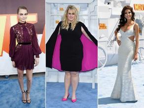 MTV Movie Awards: Ellos son los mejores y peores vestidos