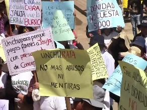 Junín: pobladores de Concepción rechazan actitud del gobernador regional