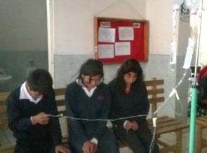 Sánchez Carrión: Escolares intoxicados ahora presentan tifoidea