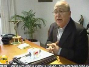Chimbote: obispo opina sobre cien días de gobierno de autoridades