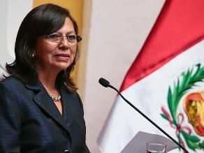 Presentan oficialmente a Ana Sánchez como jefa de diplomacia peruana