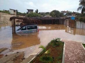 Piura: Máncora y Los órganos soportaron ocho horas de lluvia