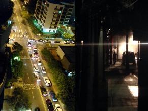 Reportan apagón y congestión por fuga de gas en San Isidro