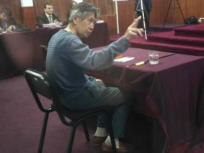 Juez dirimente resolverá reposición de línea telefónica a Fujimori