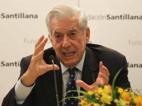 Vargas Llosa elogió obra de Grass y nivel intelectual de Galeano