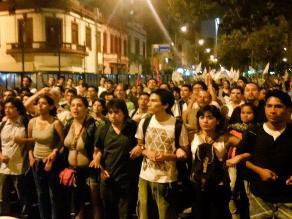 Regidor de SN denuncia manipulación política en protesta contra by-pass