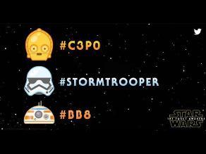 Twitter lanza los primeros emojis de Star Wars
