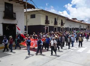 Huamachuco: ronderos exigen cambio de juez y dos fiscales