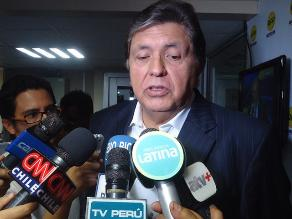 Abogado de Alan García: