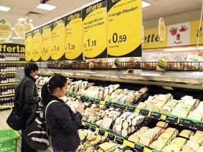 Precios en zona euro empiezan a subir y reducen temores de deflación