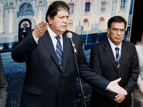Megacomisión: García destaca que no encontraron enriquecimiento ilícito